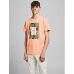 T-Shirt Homme Jack & Jones FLORAL PRINT
