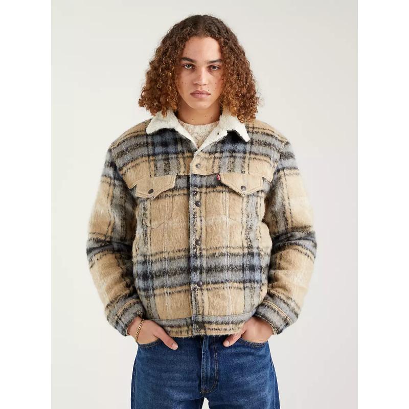 Blouson Sherpa Homme Levi's® VTG FIT SHERPA TRUCKER