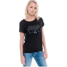 T-Shirt Logo Femme Le Temps Des Cerises BRIANA LE TEMPS DES CERISES 1260