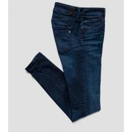 Jeans Skinny Bleu Foncé...