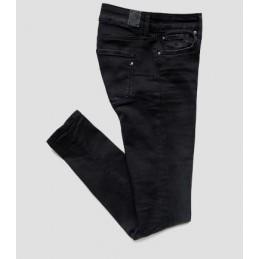 Jeans Skinny Noir Femme...
