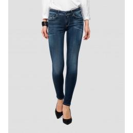 Jeans Skinny Bleu Femme...