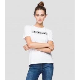 T-Shirt Logo Femme Replay W3510D REPLAY 1320