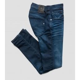 Jeans Bleu Foncé Slim Homme...