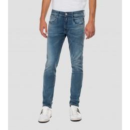 Jeans Bleu Clair Slim Homme...