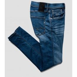 Jeans Slim Bleu Homme...