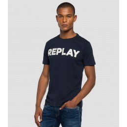 T-Shirt Logo Homme Replay...