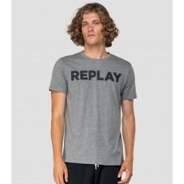T-Shirt Logo Homme Replay M3594