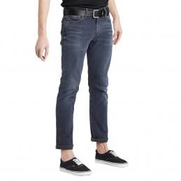 Jeans Bleu Gris Homme...