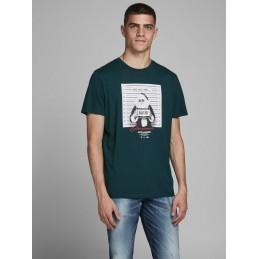 T-Shirt Homme Jack & Jones CRIMINAL XMAS JACK AND JONES 1921