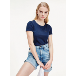 T-Shirt Femme Tommy Jeans TJW SOFT JERSEY TEE TOMMY JEANS 2109