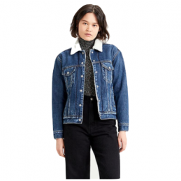 Veste Jeans Femme Levi's (R) SHERPA TRUCKER LEVI'S® 2488