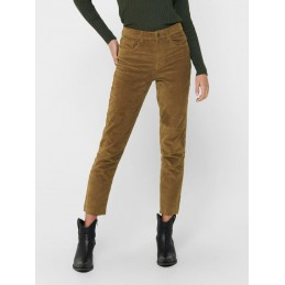 Pantalon Mom Velours Femme Only MILY GLOBAL LIFE ONLY 2615
