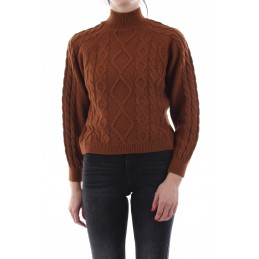 Pull Torsadé Col Montant Femme Only NEW FREYRA ONLY 4158