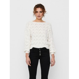 Pull Ajouré Femme Only BRYNN LIFE STRUCTURE ONLY 4160