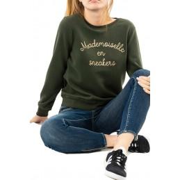 Sweatshirt Inscription Femme Only SILLE MADEMOISELLE
