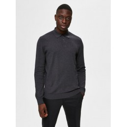 Polo Maille Homme Selected BERG SELECTED 562