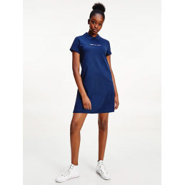 Robe Polo Femme Tommy Jeans TJW ESSENTIAL POLO DRESS TOMMY JEANS 6782