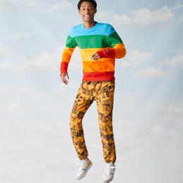 Sweatshirt Homme Lacoste x Polaroid SH2088 LACOSTE 7710
