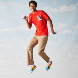 T-Shirt Homme Lacoste x Polaroid TH2093