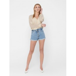 Short Jeans Femme Only CUBA LIFE PAPERBAG ONLY 8176