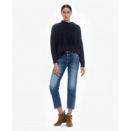 Jeans Mom Taille Haute...