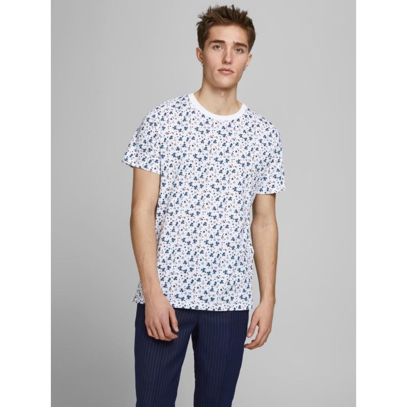 Jack And Jones Colour Block T Shirt Homme Homme À Encolure Ras-Du-Cou Tee Top à manches courtes