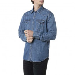 Chemise Jeans Homme Replay...